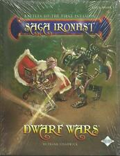 Saga Ironfist, Dwarf Wars Saga Book 1, New, sealed
