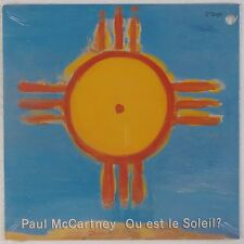 "PAUL McCARTNEY: Ou Est Le Soleil? SEALED '89 MPL Capitol Beatles 12"" LP"