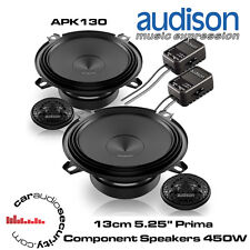 "Audison APK130 - 13cm 5.25"" Prima Component Speakers 450 Watts Total Power"