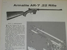 ARMALITE AR-7 RIFLE EXPLODED VIEW