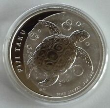 2013 New Zealand Mint Fiji Taku 1 oz (1 Troy Ounce) .999 Silver Bullion Coin