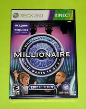 XBox 360 KINECT Game - Who Wants to Be A Millionaire 2012 Edition (New)