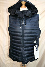 BNWT womens Genuine MONCLER LUCILA DOWN Gilet/Vest Size 3 uk 12 RRP £535