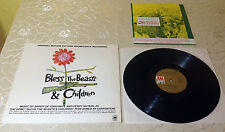 "BLESS THE BEASTS & CHILDREN (LP) ""ORIGINAL SOUNDTRACK"" [GER A&M 85 797 IT] M-"