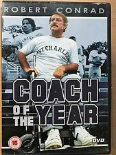 Robert Conrad COACH OF THE YEAR ~ 1980 Disabled American Football Drama | UK DVD