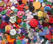 BRAND NEW Pack of 200 Mixed Craft Buttons & Embellishments,over 100g.Card Making