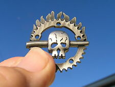 ~ MAD MAX FURY ROAD LAPEL PIN Vest Badge NEW suit HARLEY-DAVIDSON Skull