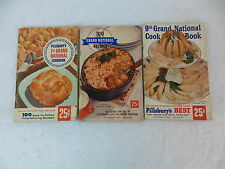PILLSBURY COOKBOOKS  Lot of 3 PBs    With Prize-Winning recipes