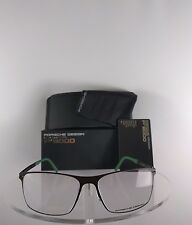 New Authentic Porsche Design P 8256 A Eyeglasses Titanium P'8256 Matte Black