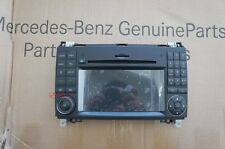 09~12 GENUINE OEM Mercedes W169 NTG2.5 A B SPRINTER Navigation LCD + Face Plate