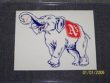 A's Athletics Sticker Decal Vintage 1947 Philadelphia Kansas City New Unused