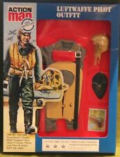 VINTAGE ACTION MAN 40th anniversario della Luftwaffe PILOTA uniforme in massa in Scatola