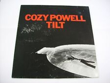 COZY POWELL - TILT - LP VINYL HOLLAND 1981 EXCELLENT