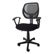 New Ergonomic Mid-back Mesh Swivel Computer Nylon Office Desk Task Chair Black