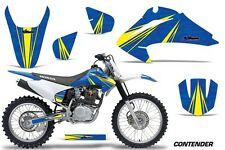 Honda CRF 150/230F Graphic Kit AMR Racing Decal Sticker Part 03-07 CONTENDER BLU