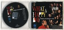 Cd Frisbie & The Football Stars WHAT A HAPPY DAY - PERFETTO 1999 Weah Zidane