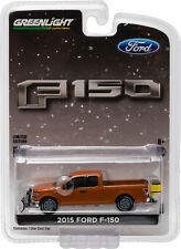 Greenlight Hobby Exclusive 2015 Ford F-150 with Snow Plow Free USA Ship NEW