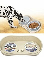 Non Skid Dog Bowl Spill Tray Splash Guard Keeps Ants Out Moat Food Water Pets