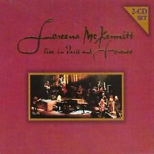 "Loreena McKennitt Live in Paris and Toronto = Book of Secrets & ""Best Of"" Great!"