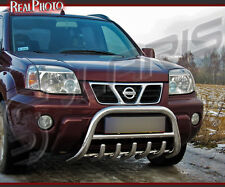 NISSAN X-TRAIL 01-06, BULL BAR,NUDGE BAR,A BAR + GRATIS! STAINLESS STEEL