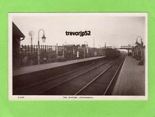 Letchworth Railway Station unused RP pc WHS Kingsway Ref A682