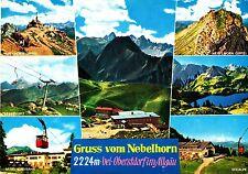 Gruss vom Nebelhorn , Ansichtskarte , 1966 gelaufen