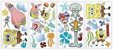 SpongeBob Squarepants 45 BiG Wall Decals Patrick Room Decor Decor Stickers NEW