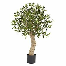 Nearly Natural 5331 Olive Silk Tree- 2.5-Feet- Green NEW