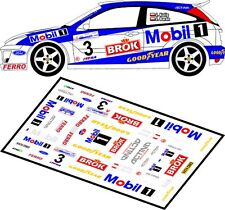 DECALS 1/43 FORD FOCUS RS WRC - #3 - KULIG - RALLYE DE POLOGNE 2002 - D43025