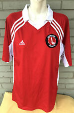 Steinclub Athletic Sword Adidas Red Soccer Athletic Jersey Size XL