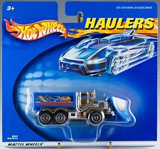 Hot Wheels Haulers HWP Interceptor Shovel Nose Snow Plow Truck 2001 New MOC