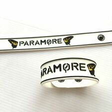 1 x PARAMORE RUBBER WRISTBAND BRACELET ROCK MUSIC Memorabilia Gift Collectible