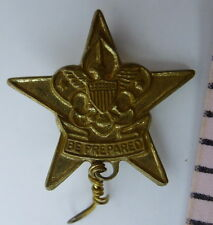 Be Prepared STAR PIN Vintage Boy Scouts of America 1970s
