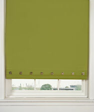 Square Eyelet Straight Edged Roller Blind 6 Different Width x 165cm Drop/Length