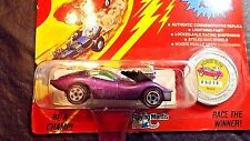 1993 JOHNNY LIGHTNING VICIOUS VETTE PURPLE COMMEMORATIVE LIMITED ED CHALLENGER