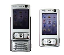 NOKIA N95 Plum Silver 3G WIFI GPS 5MP Unlocked free shipping