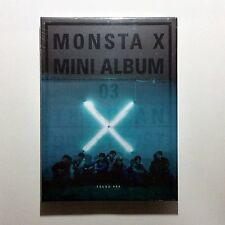 MONSTA X [THE CLAN 2.5 PART.1 LOST] 3rd Album FOUND ver.CD+Photobook&card+Poster