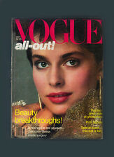 VOGUE-OCTOBER 1981-NASTASSIA KINSKI-GIA for DIOR-PARIS THEMES-PRINCESS DIANA