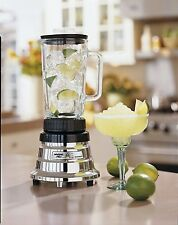 Waring Pro WPB05 Bar Blender w/2 Speeds, 500 Watts - Chrome, Refurbished