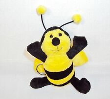 "4"" Plush Bee Keychain ~ Use For Keys Or As A Charm On Backpack/Purse/Clothing"