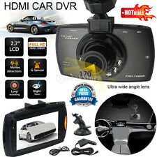 HD 1080P Dual Lens Car DVR Rearview Camera Dash Cam Video Recorder G-Sensor