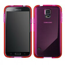 Tech21 D3O Impact Mesh Case Cover for Samsung Galaxy S5 S5 Neo  Pink T21-4010
