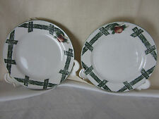 Citation Snack Plates Set of Two The Cades Cove Collection 7 in 19.25 cm  EPOC