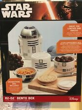 Official Licensed Star Wars R2-D2 Bento Lunch Box BRAND NEW Disney