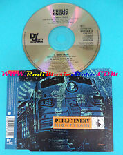 CD Singolo Public Enemy Nighttrain 657864 2 UK 1992 no mc lp vhs(S25)
