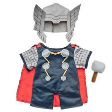 BUILD A BEAR FACTORY RARE & HTF 3PC AVENGERS THOR COSTUME  BNWT