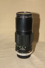 MINOLTA MC TELE ROKKOR-PE 200mm 1:4.5 LENS MD MOUNT  EXCELLENT 5594