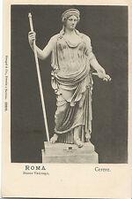 Italy Postcard - Roma - Musco Vaticano - Cerere - Sculpture   ZZ2274