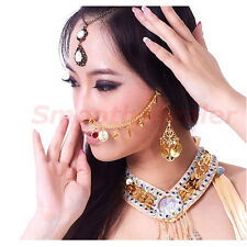 New Belly Dance Costume Accessorie​​s India Shali Wa Dancing Jewelry Nose Chains