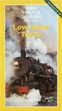 National Geographic - Love Those Trains - VHS Video